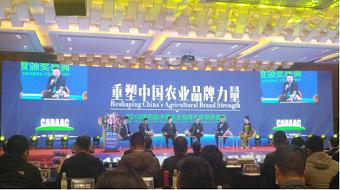 重庆市畜牧业协会参加2018第四届中国农业品牌年度颁奖盛典